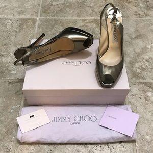 Jimmy Choo Open Toe Shoes